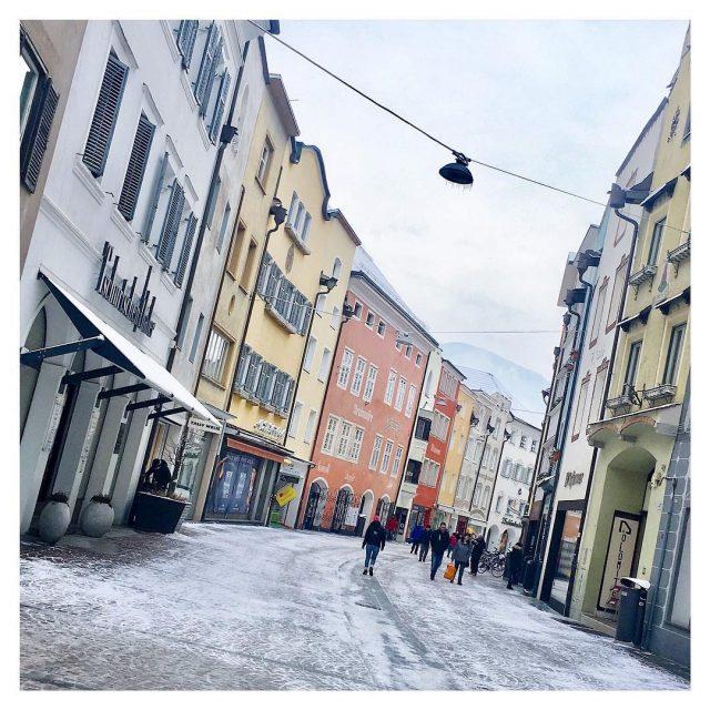 LOVELY CITY Buongiorno Bruneck! italy bruneck shopping oldcity travelgram instatravelhellip